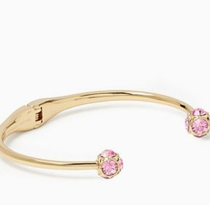 Kate spade pink crystal bracelet